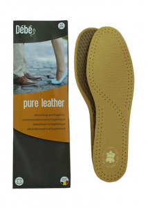 Debe Pure Leather Insole Beige
