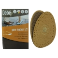 Debe Pure Leather Half Insole Beige
