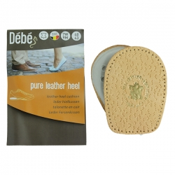 Debe Pure Leather Heel Cushions